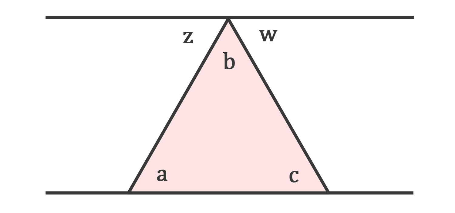 How to find the angle of a triangle with examples What do exterior angles of a triangle add up to