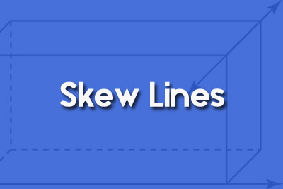 Skew Lines Geometry Definiton Examples Video Tutorscom