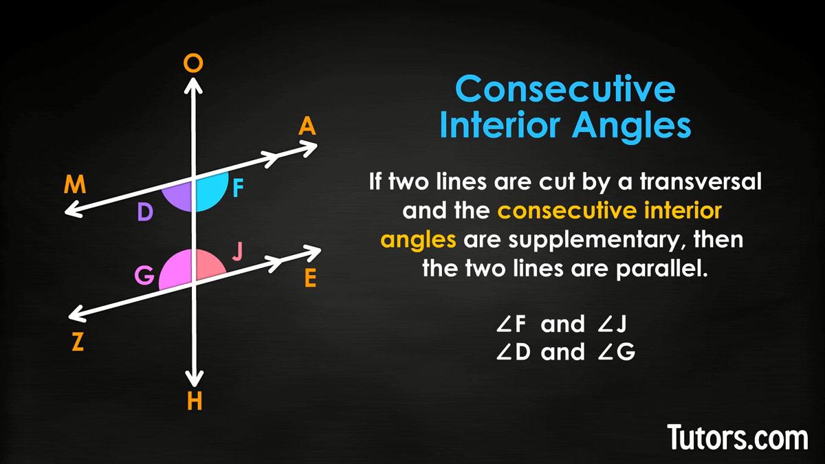 844229671707 Consecutive Interior Angle Converse Theorem