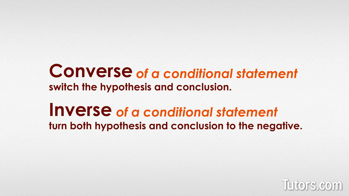Conditional Statements and Their