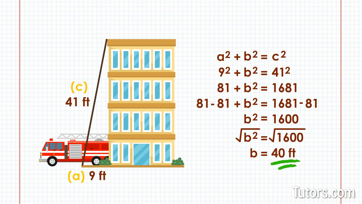 Pythagorean Theorem Video Formula Definition Examples Proof